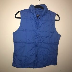 Small Lands End Puffer Vest